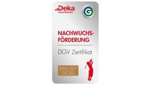 DGV Nachwuchsförderung Auszeichnung 2016