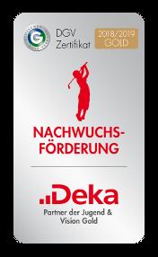 DGV Nachwuchsförderung Auszeichnung 2018/2019