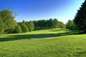 Aussicht auf den Fairway im Golf Club Hubbelrath