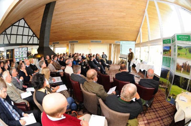120 Teilnehmer folgten der Tagung Golf und Natur am 23. Oktober 2010 im Golf Club Hubbelrath.