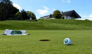Clubhaus des Golf Club Hubbelrath in Düsseldorf