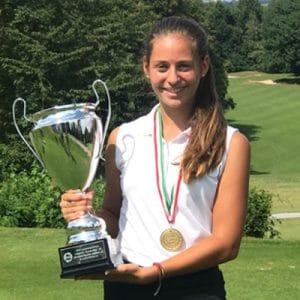 Emilia von Glahn gewinnt bei den NRW Meisterschaften AK16
